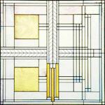 Glas Design Entwurf